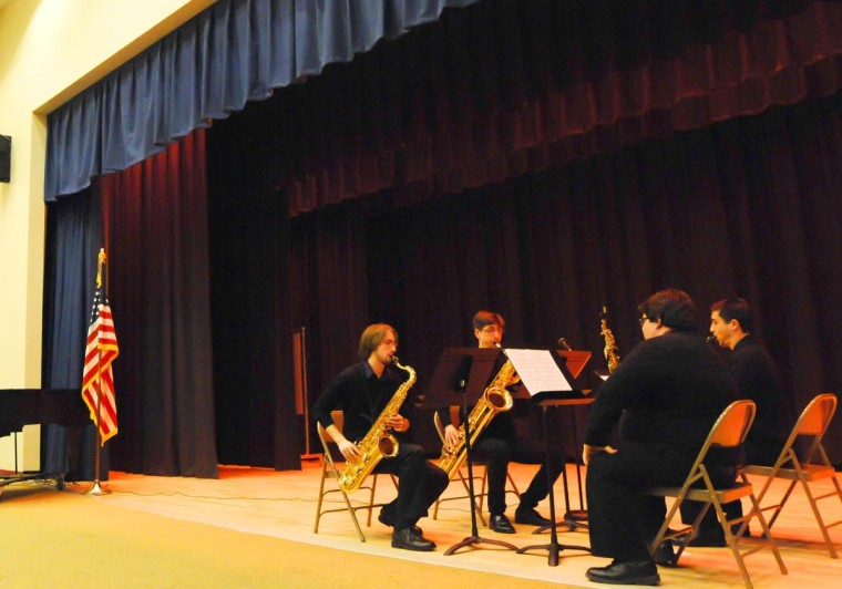 Queens Quartet Brings Bach to School 2