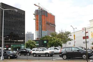 Rego Park apartment tower rising quickly 1