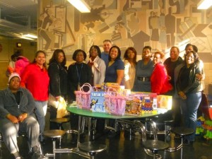 Final push for toy drive this season 1