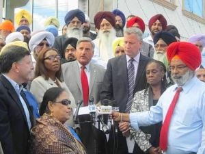 Sikhs respond to attack on professor 1