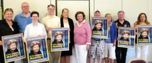 Markey starts re-election bid 1
