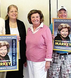 Markey touts record as election nears 1