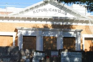 Republican Club to be a catering hall 1