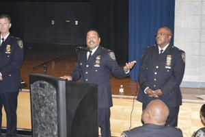 Cops talk community in NYPD's Queens South 1