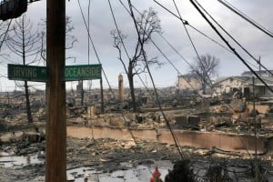 Rockaway Peninsula devastated by Hurricane Sandy  2