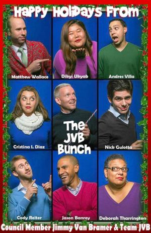 The JVB Bunch sends its best wishes 1