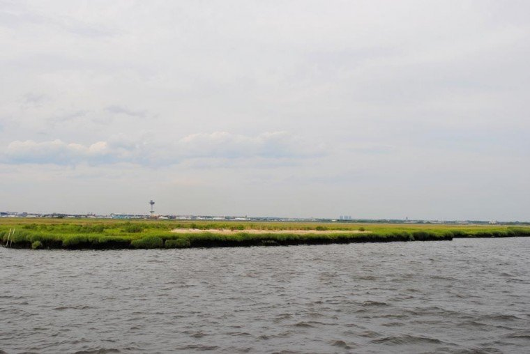 Cruising Jamaica Bay in summer