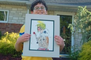 Preteen artist sells art for good cause 1