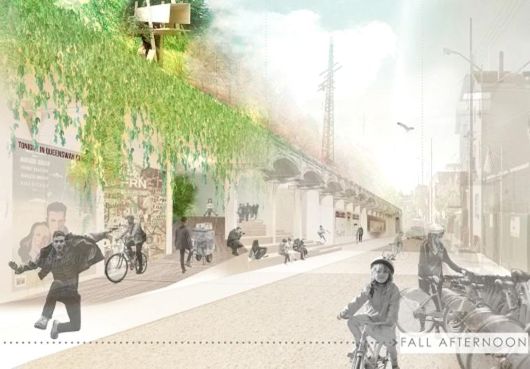 How might the QueensWay look? 1