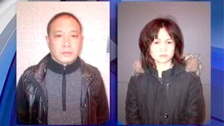 Two charged with selling bogus goods 1