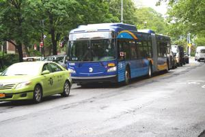 New buses roll out onto Queens streets 1