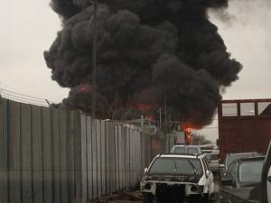 Gotti-linked Jamaica junkyard burns 2