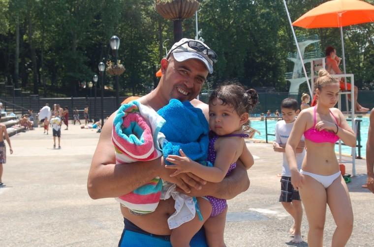 Swimming time at Astoria Pool