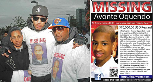Avonte Oquendo's family files lawsuit 1