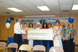 Club donates big bucks to volunteers 1