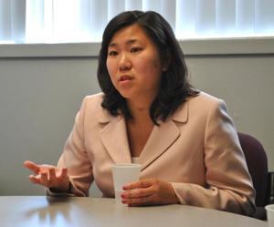 Rep. Meng mugged in Washington