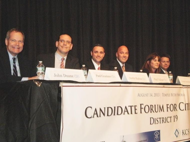 Dist. 19 candidates show differences 1