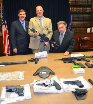 Gambling busts lead to guns, drugs: DA 1