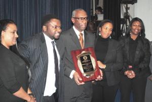 Merrick Academy honors Floyd Flake 1
