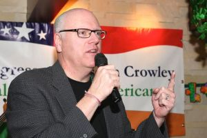 Crowley announces campaign 1