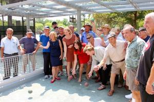 Juniper Valley Park opens again for bocce 1