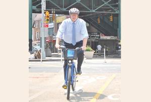 Crowley says bill can help Citi Bike, Queens 1