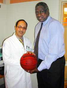 Queens Hosp. Teams Up With Knicks On Prostate Cancer
