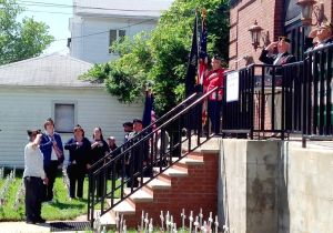 Woodhaven soldiers gather to remember 1