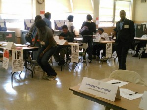 Many voters in today's primaries confused by shift in polling places