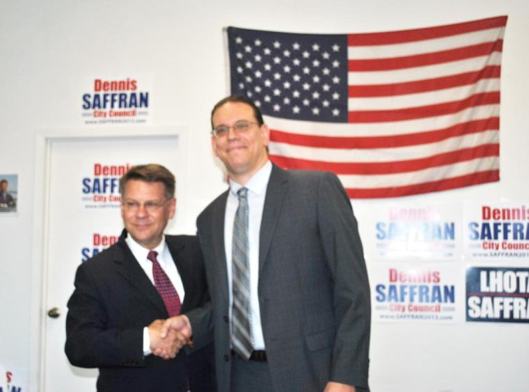Democrat backs GOPer's Saffran 1