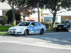 Swastikas, other graffiti deface cars in Bellerose