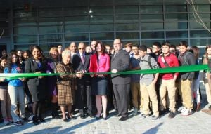 New Maspeth High School cuts ribbon 1
