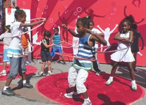 Arthur Ashe Kids' Day a smashing hit