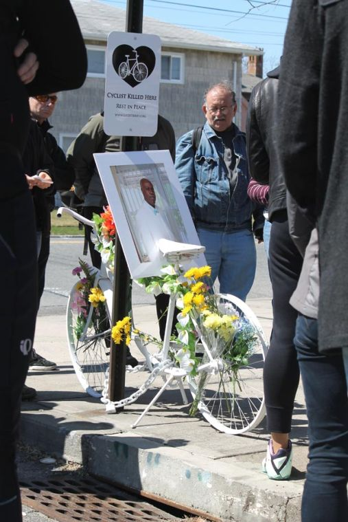Cyclist remembered in Howard Beach 1
