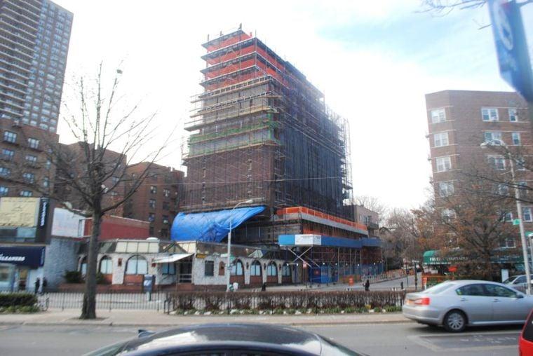 Kew Gardens hotel under construction 1