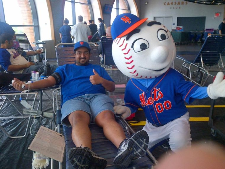 Mets host blood drive 1