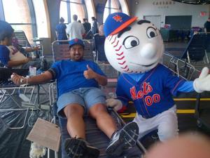 Mets host blood drive 1