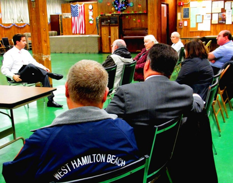 Seniors, transit, jobs top talk at town hall 1