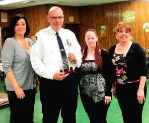 Alliance doles out first award to 106th captain 1