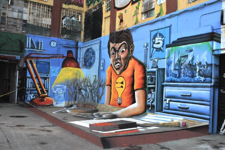 Day one of 5Pointz artists' court battle 1