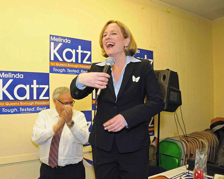 Melinda Katz cruises to BP in a landslide 1