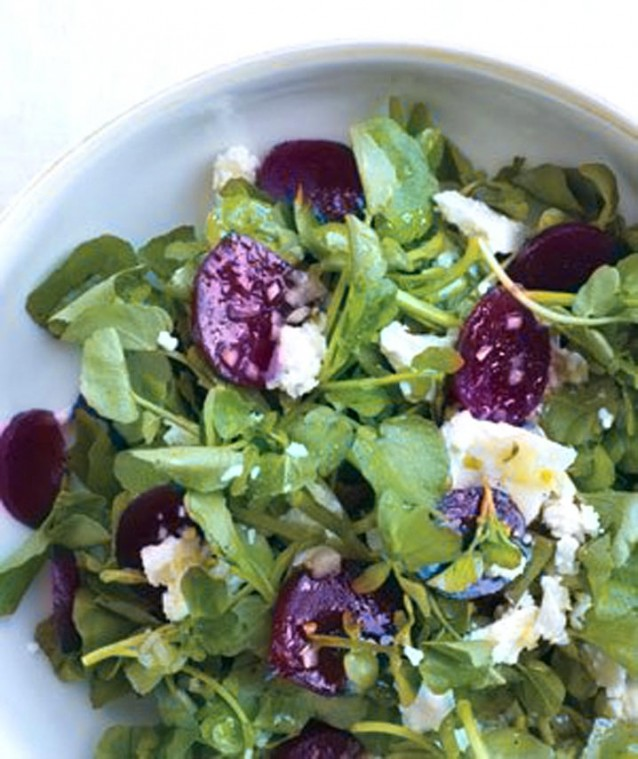 Spring greens make a tasty salad 2