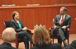 Elena Kagan, SCOTUS Mets fan, visits St. John's 1