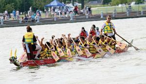 Dragon boat races set for weekend 1