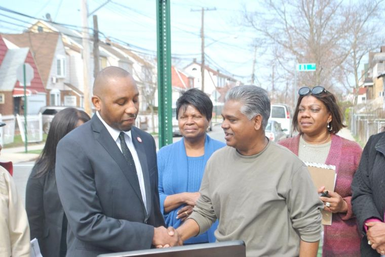 Stop signs a start in Springfield Gardens 2