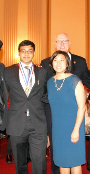 Forest Hills student honored 1