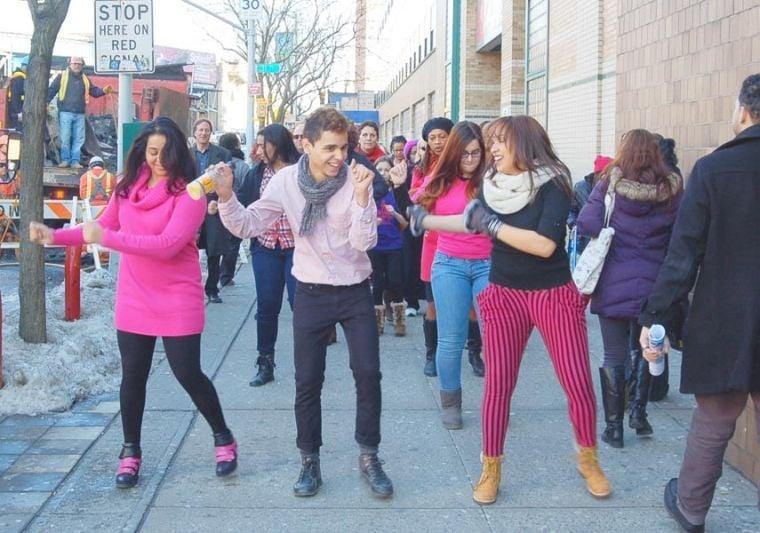 'One Billion Rising' in Long Island City 1