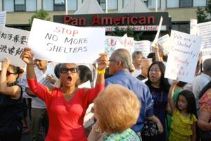 Residents rally at Pan Am a third time 1