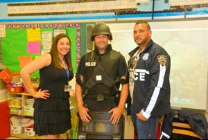 Career Day's first responders 1