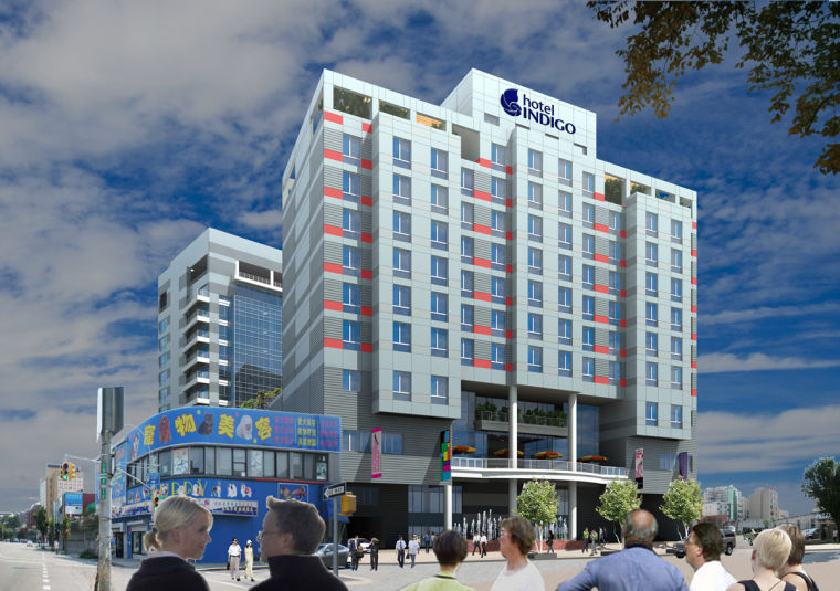 Variance OK'd for hotel-office units 1